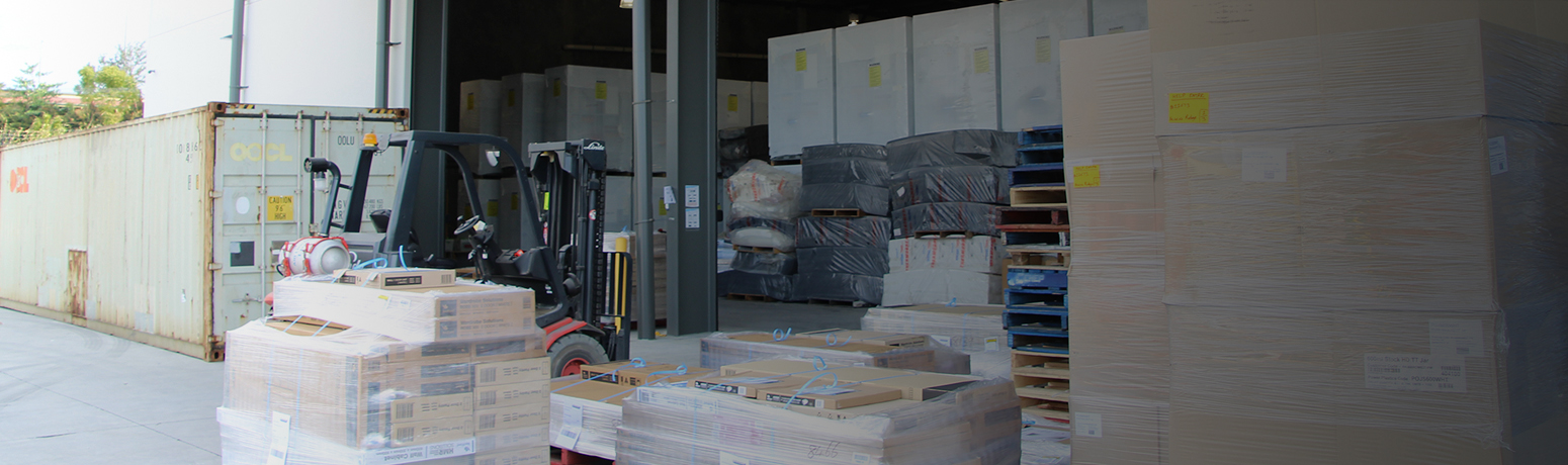 Container unloading services